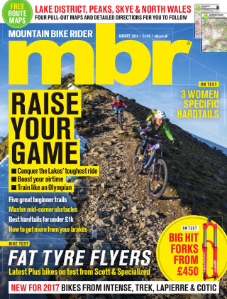 Mountain Bike Rider August 2016
