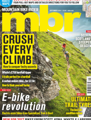 Mountain Bike Rider September 2016