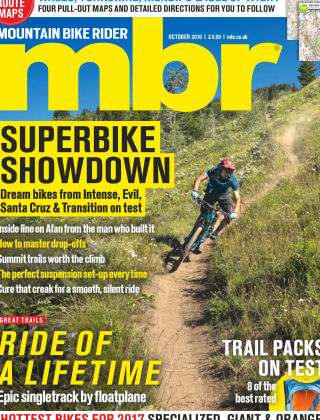 Mountain Bike Rider October 2016