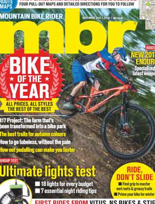 Mountain Bike Rider November 2016