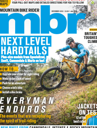 Mountain Bike Rider December 2016