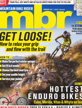 Mountain Bike Rider February 2017