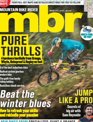 Mountain Bike Rider March 2017