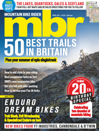 Mountain Bike Rider April 2017