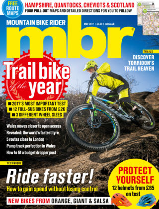 Mountain Bike Rider May 2017