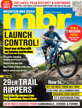 Mountain Bike Rider Jul 2017