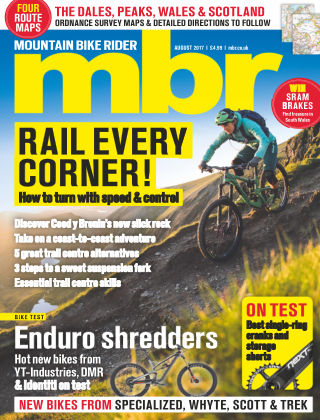 Mountain Bike Rider Aug 2017