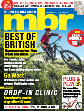Mountain Bike Rider Sep 2017
