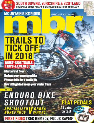 Mountain Bike Rider Jan 2018