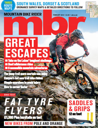 Mountain Bike Rider Feb 2018