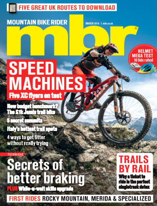 Mountain Bike Rider Mar 2018