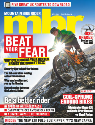 Mountain Bike Rider Apr 2018
