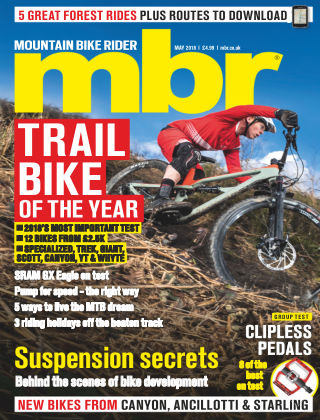 Mountain Bike Rider May 2018