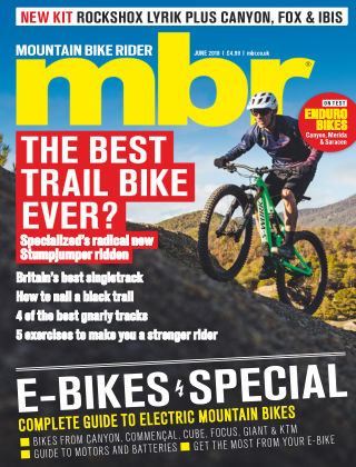 Mountain Bike Rider Jun 2018