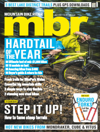 Mountain Bike Rider Jul 2018
