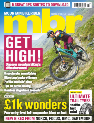 Mountain Bike Rider Summer 2018