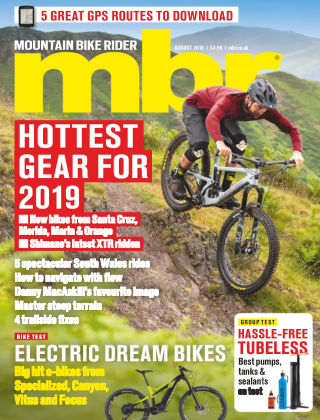 Mountain Bike Rider Aug 2018