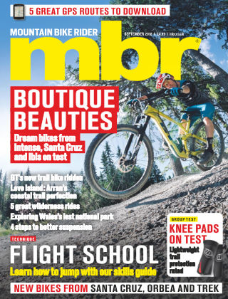 Mountain Bike Rider Sep 2018