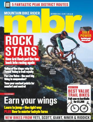 Mountain Bike Rider Oct 2018