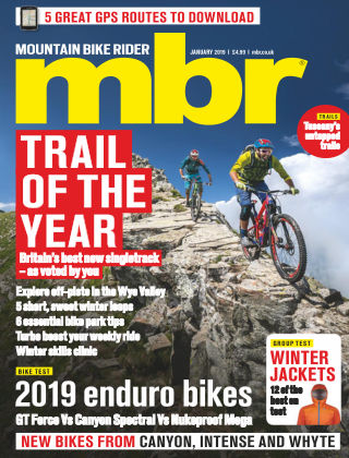 Mountain Bike Rider Jan 2019