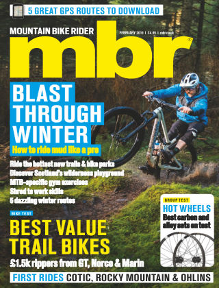 Mountain Bike Rider Feb 2019