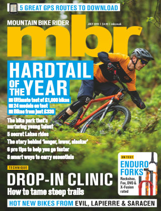 Mountain Bike Rider Jul 2019