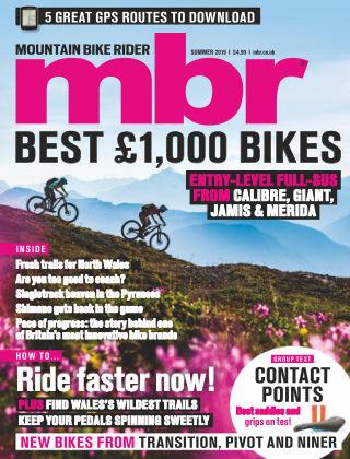 Mountain Bike Rider Summer 2019