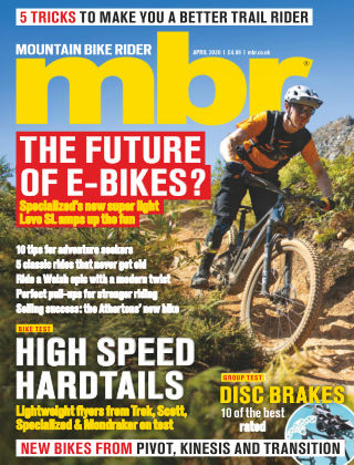 Mountain Bike Rider Apr 2020