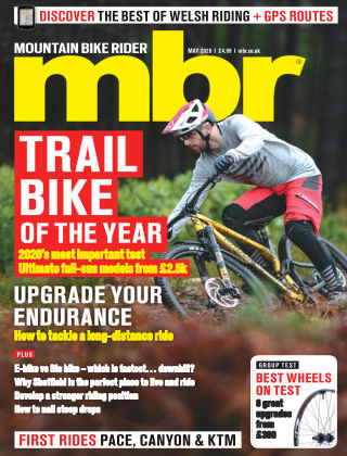 Mountain Bike Rider May 2020