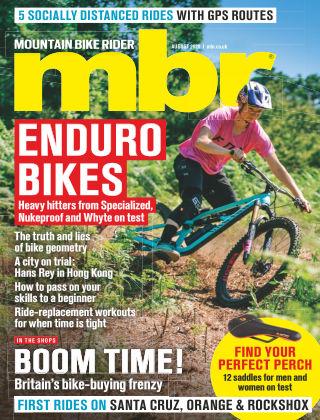 Mountain Bike Rider August 2020