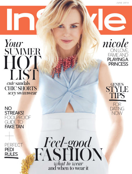 InStyle June 05, 2014 00:00