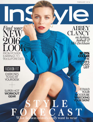 InStyle February 2016