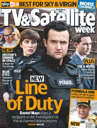 TV & Satellite Week 19th March 2016