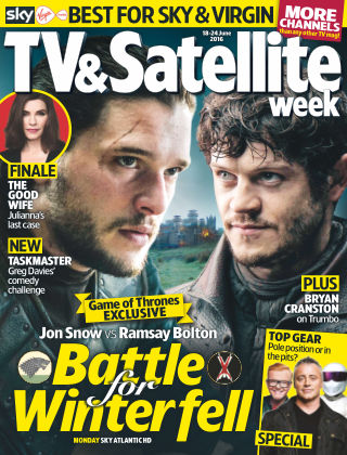 TV & Satellite Week 18th June 2016