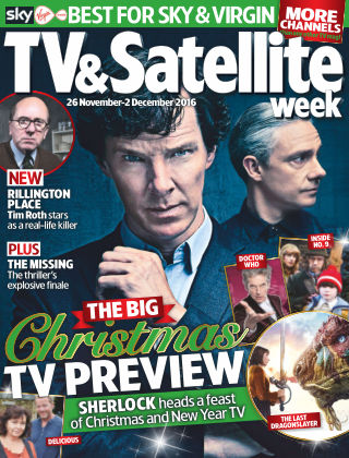 TV & Satellite Week 26th November 2016