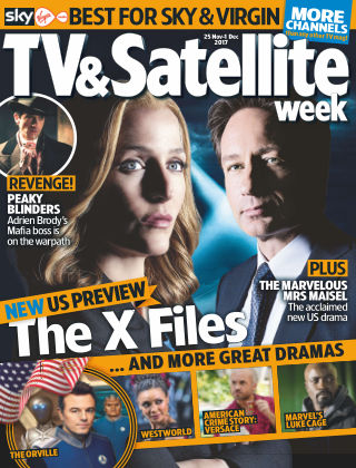 TV & Satellite Week 25th November 2017