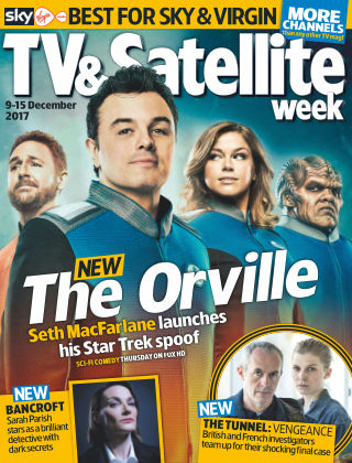 TV & Satellite Week 9th December 2017