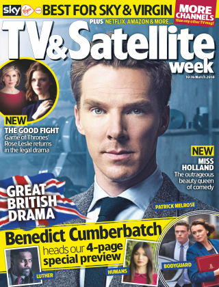 TV & Satellite Week 10th March 2018