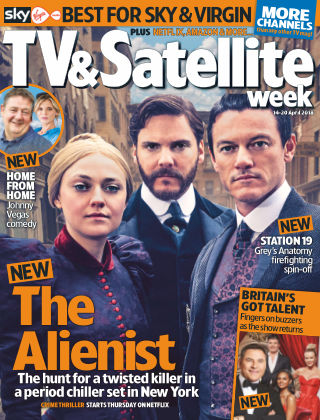 TV & Satellite Week 17th April 2018