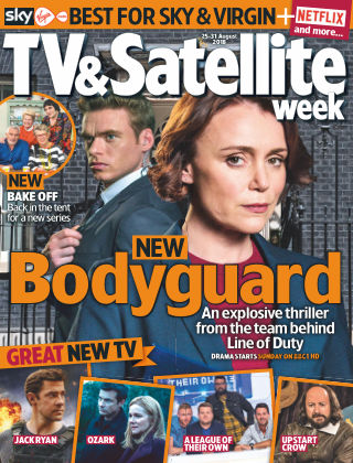 TV & Satellite Week 25th August 2018