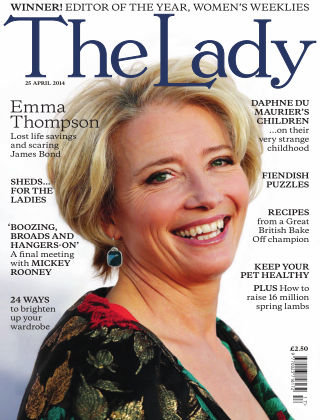 The Lady 25th April 2014
