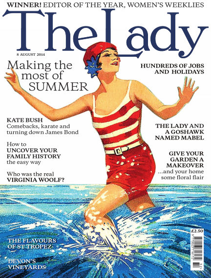 The Lady August 08, 2014 00:00