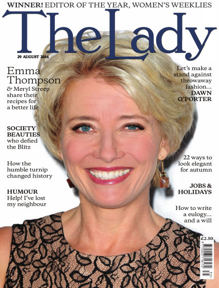 The Lady August 29, 2014 00:00