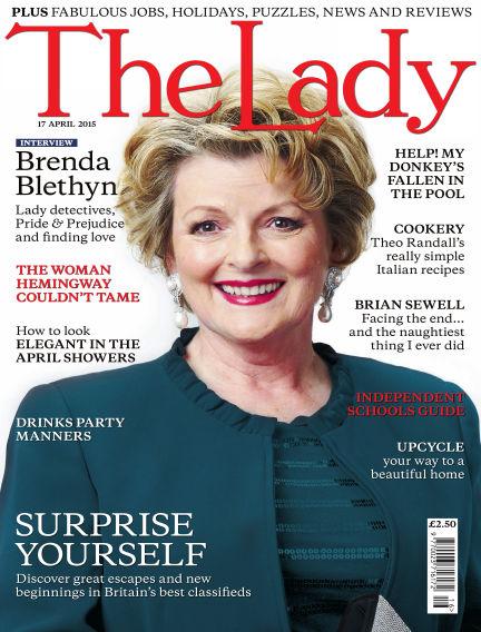 The Lady April 17, 2015 00:00
