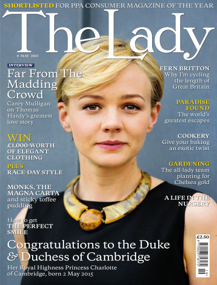 The Lady May 08, 2015 00:00
