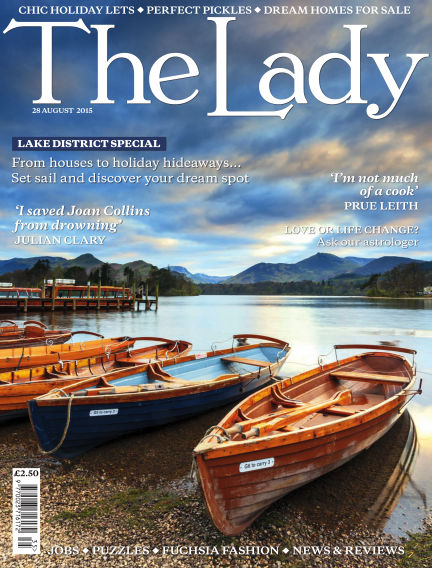 The Lady August 28, 2015 00:00