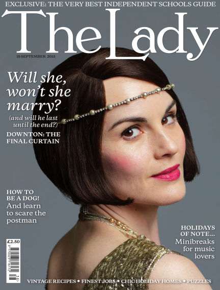 The Lady September 18, 2015 00:00