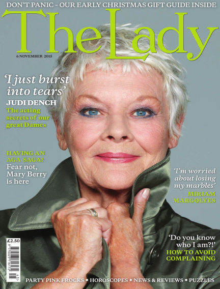 The Lady November 06, 2015 00:00