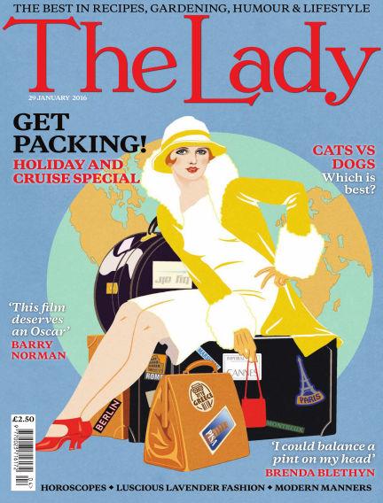 The Lady January 29, 2016 00:00