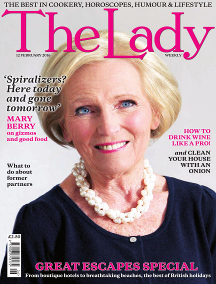 The Lady February 12, 2016 00:00